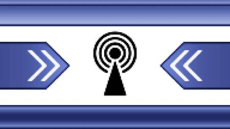 transmitting device: Antenna. Proportion 16:9