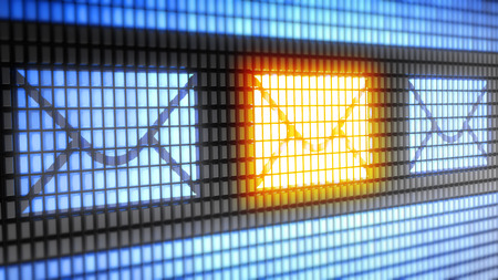 email: E-mail word on electronic concept