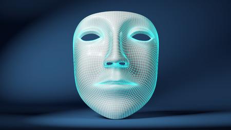 viewport: Mask Stock Photo