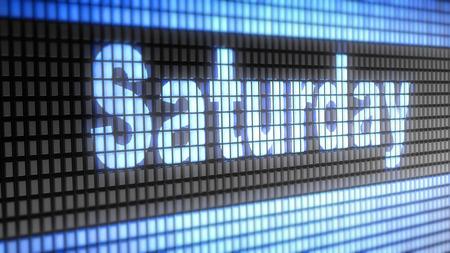 saturday: Saturday