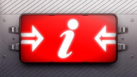 indicator board: Signboard on a wall