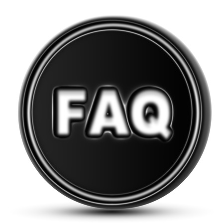 questionable request: FAQ Stock Photo