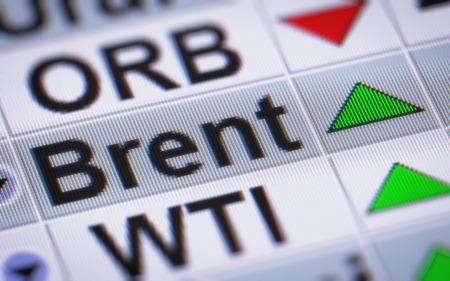 유행: 브렌트 원유. 쪽으로.