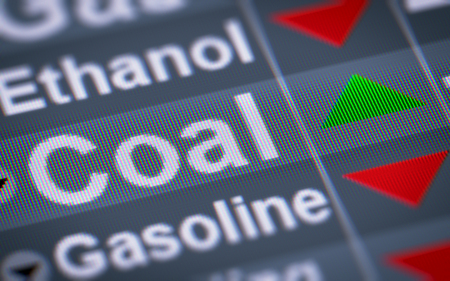 Coal. Up. Stock Photo