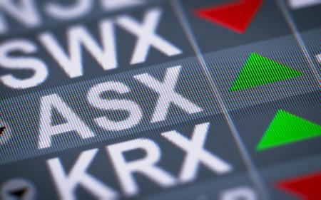 operates: Australian Securities Exchange Ltd. is an Australian public company that operates Australias primary securities exchange, the Australian Securities Exchange. Stock Photo