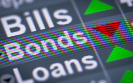 indebtedness: In finance, a bond is an instrument of indebtedness of the bond issuer to the holders.