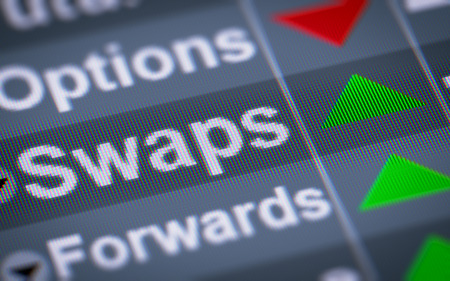 those: A swap is a derivative in which two counterparties exchange cash flows of one partys financial instrument for those of the other partys financial instrument.
