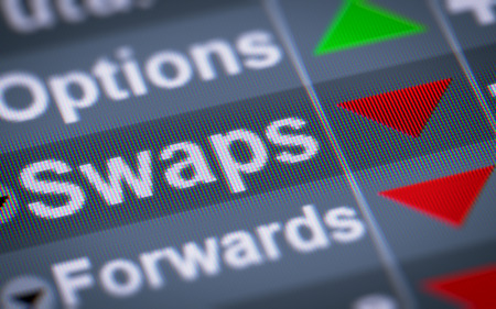 A swap is a derivative in which two counterparties exchange cash flows of one partys financial instrument for those of the other partys financial instrument.