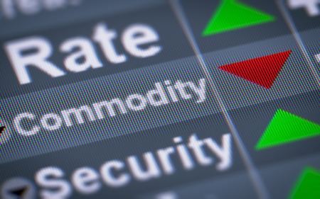commodity: Commodity on the screen. Down.