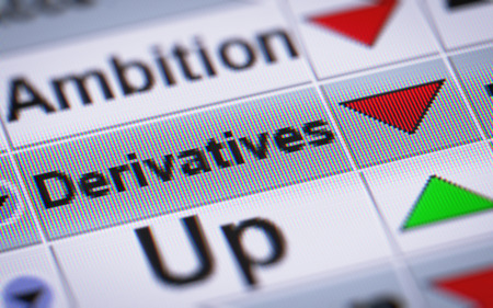 swaps: Derivatives on the screen. Down.