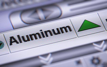 mettalic: Index of Aluminum. Up.