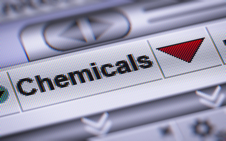 chemic: Chemicals index on the screen. Down.