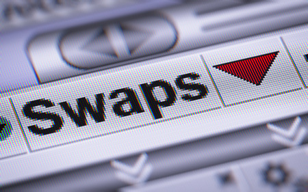 swaps: A swap is a derivative in which two counterparties exchange cash flows of one partys financial instrument for those of the other partys financial instrument.