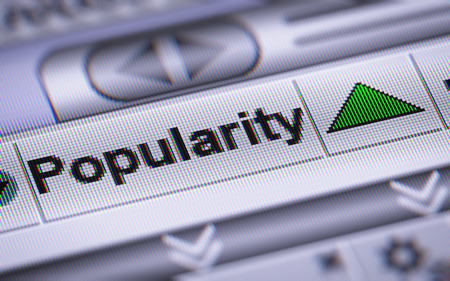 popularity: Popularity on the screen. Up.