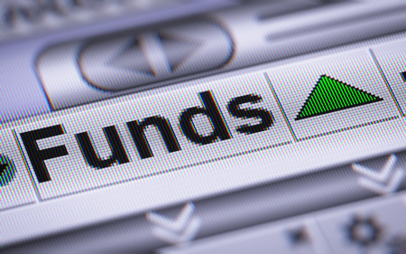 funds: Funds on the screen. Up.