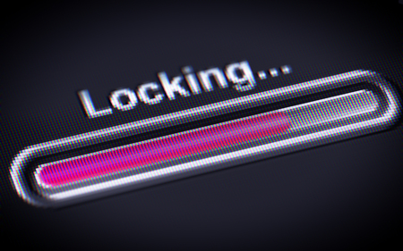 breaking the code: Process of Locking on a screen.