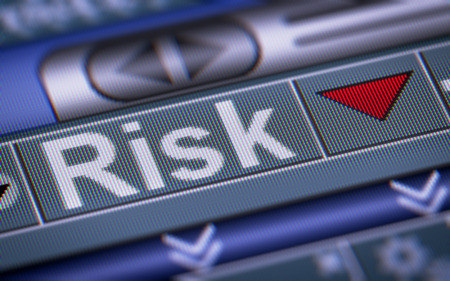 risky innovation: Index of Risk on the screen. Down.