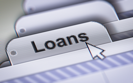 swaps: Report on the Loans. Stock Photo
