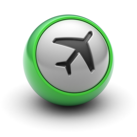 Flight Icon on the Ball