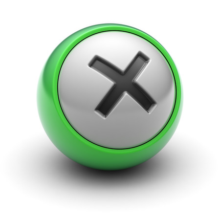 summation: Multiply sign on the ball