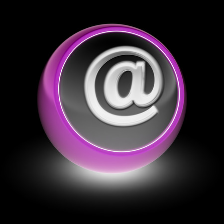 The E-mail Icon on the ball.