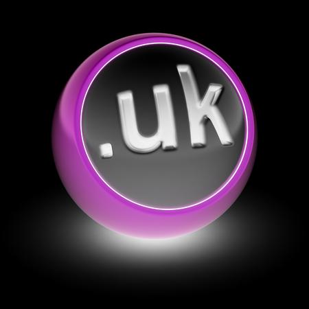 webhost: UK Domain on the ball.