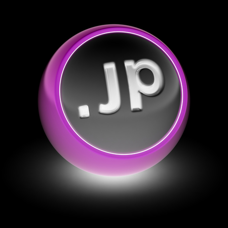 domains: JP Domain on the ball.