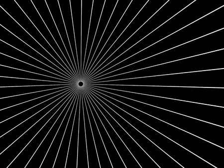 singularity: A black Hole.