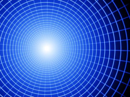 gravedad: Un agujero negro.