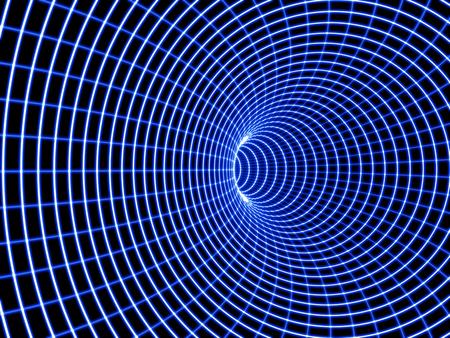 wormhole: A black Hole.