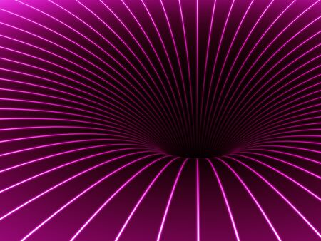 A black Hole in pink.