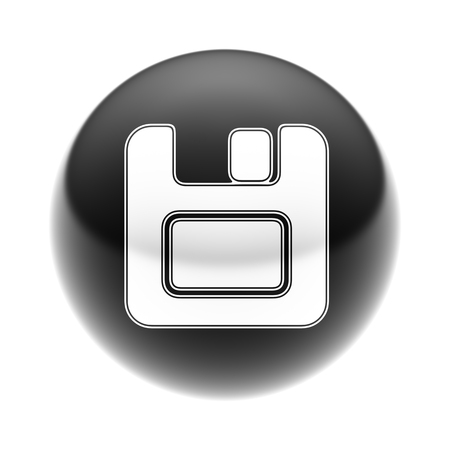 archive site: Save Icon on The black Ball.