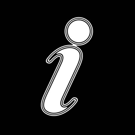 The Internet Icon on A black Background.