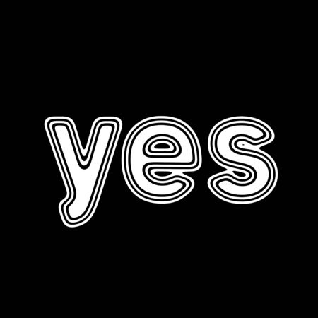 yes on A black Background.
