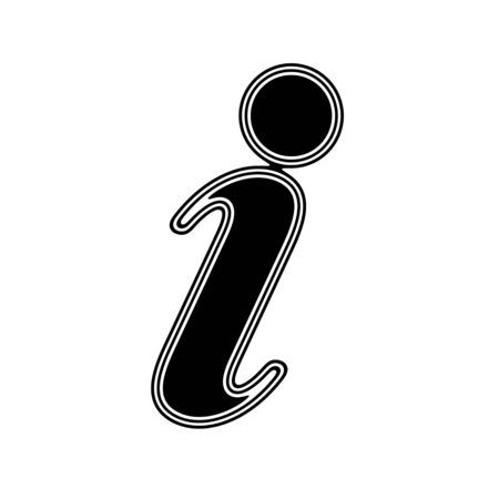 The Internet Icon on A white Background.