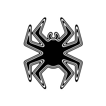 The Virus Icon on A white Background.