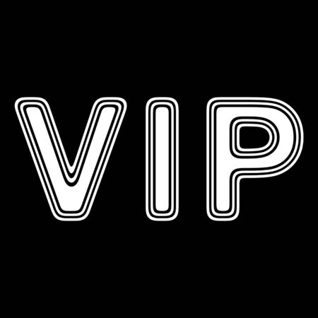 celebrities: VIP on A black Background.