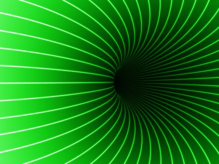 Black Hole in green color.