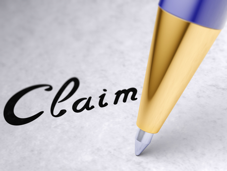 Claim on the page