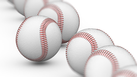 Baseball. 3D Illustration.
