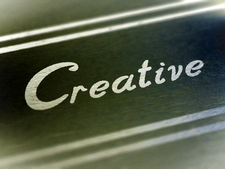 Creative. 3D Iluustration. Stok Fotoğraf