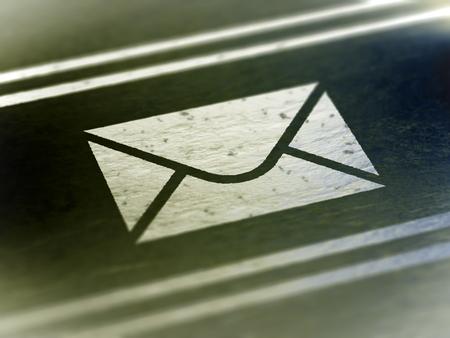 E-mail icon. Stock Photo