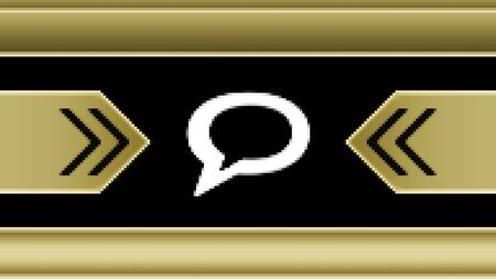 Chat icon in the screen. Illustration.