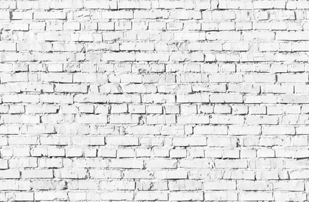 Seamless texture of white Brickwall. Stock Photo