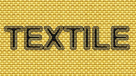 Textile in texture of fabric. Illustration.
