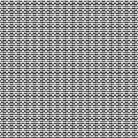 Seamless displacement map of Fabric. Illustration. Stockfoto
