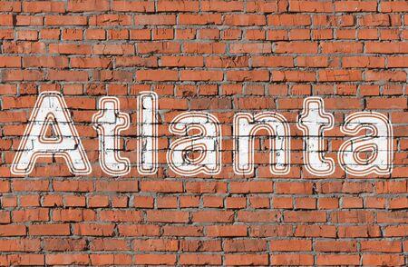 Atlanta. Word on the wall.