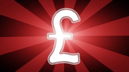 Pound icon. Illustration. 写真素材