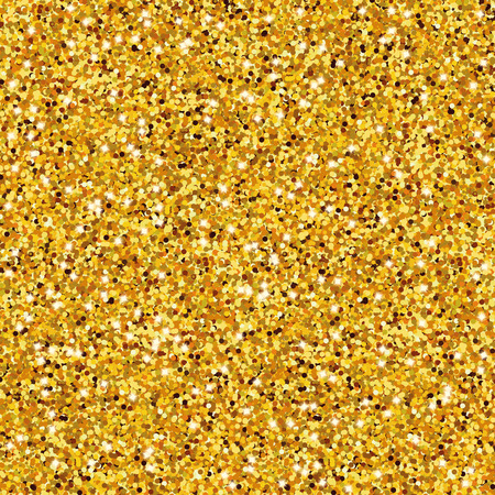 glitter background: Golden sparkles texture, with shine and glossy confetti. Golden glitter for texture or background, for xmas, year, new, holiday, festive, event.