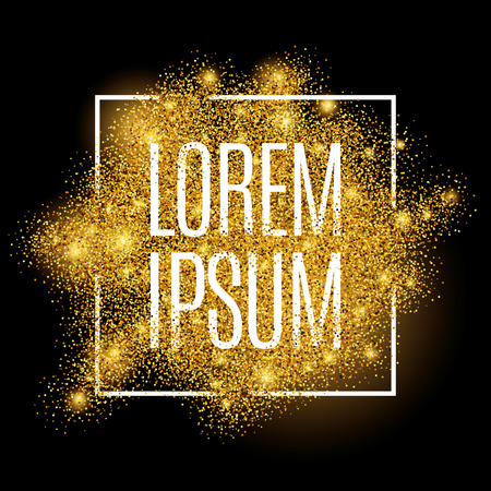 Gold background for  poster, shopping, for sale sign, discount, marketing, selling, web, header. Abstract golden background for text, type, quote. Gold blur background 일러스트